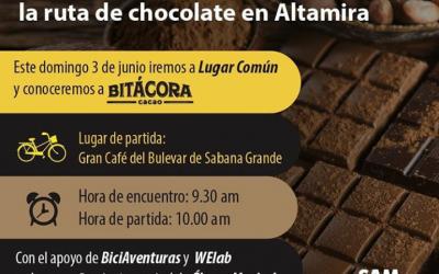 Bitácora Cacao en Biciturismo Urbano: La Ruta del Chocolate