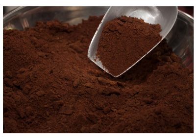 Premolienda de cacao